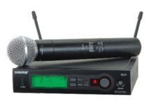 Радиомикрофон Shure SLX24E / SM58