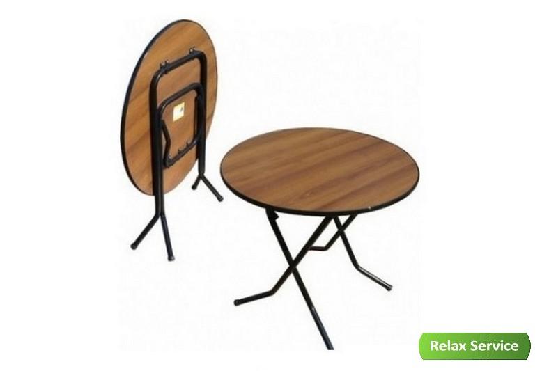 аренда банкетного круглого стола 80 см.