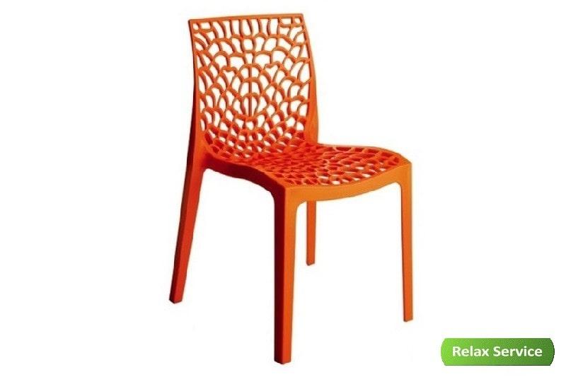 аренда стул groover оранжевый