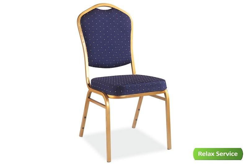 аренда стула штабелируемого синего