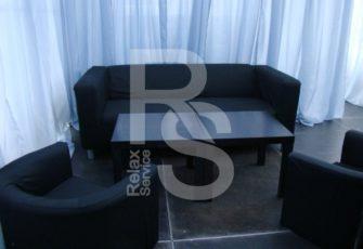 Кресло черное аренда на мероприятие в СПб и МСК цена