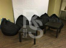 Bean bag Mini - Кресло мешок черный