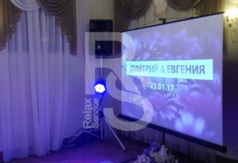 Аренда проекционного экрана на мероприятие в МСК и СПб цена