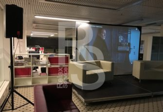 Аренда проекционного экрана обратной проекции на мероприятие в МСК и СПб цена
