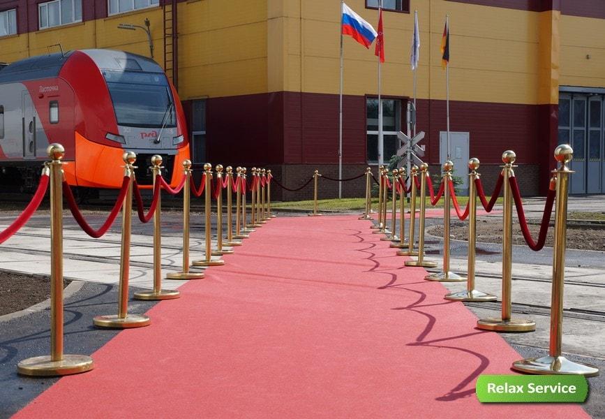 Комплексное обеспечение церемонии открытия депо Siemens