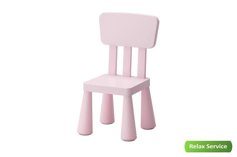 аренда детского розового стула