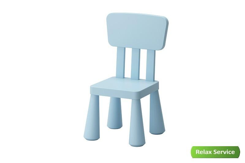 аренда детского синего стула