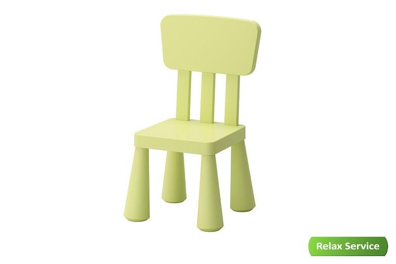 аренда детского зеленого стула