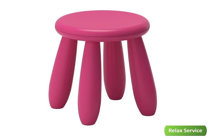 аренда детского розового табурета