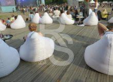 Bean bag Opti - Кресло мешок белый