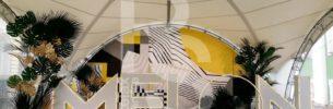 Шатер и оборудование для мероприятия Melon Fashion Group
