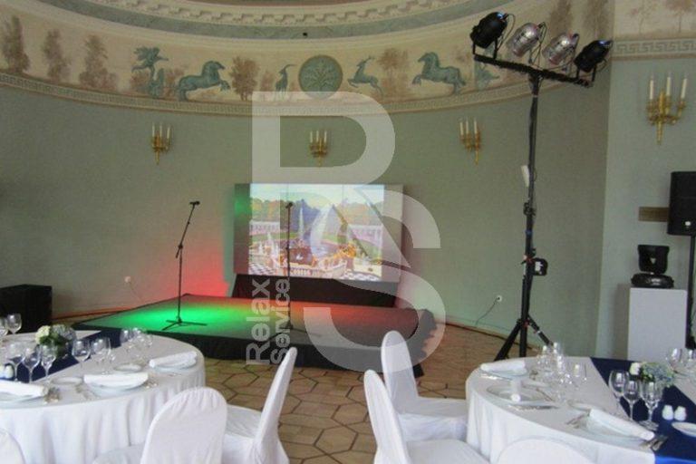 Аренда подиума Europodium 4 на3 метра на мероприятие цена, взять в прокат Европодиум 4х3 в СПб стоимость