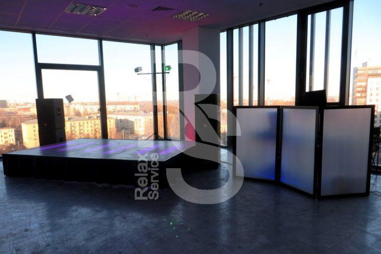 Аренда подиума Europodium на мероприятие цена, взять в прокат Европодиум в СПб стоимость