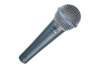 Микрофон шнуровой - Beta 58A аренда на мероприятие в МСК и СПб цена