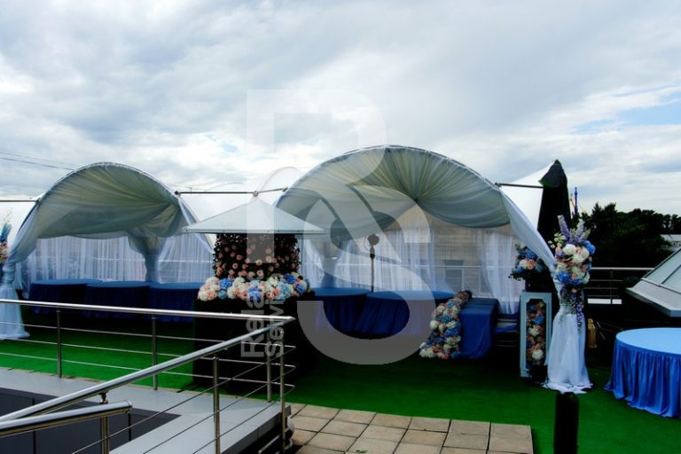Шатер арочный, 5х5м, аренда шатра 25 кв. метров цена, взять в прокат тент арка 5 на 5 метров в СПб
