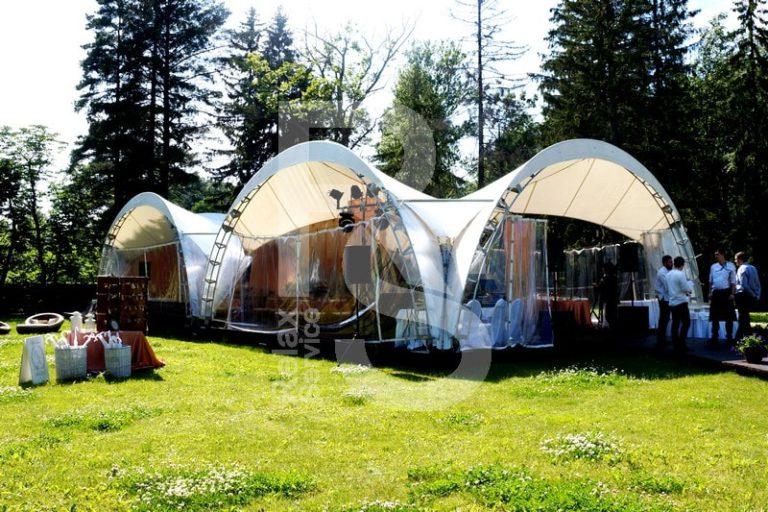 Шатер арочный 8х8 м аренда цена, взять в прокат шатер 8 на 8 метров арочный в СПб стоимость