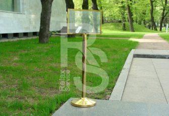 аренда столбика с указателем А4 на мероприятие в МСК и СПб цена