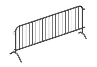 Уличное ограждение - Фан-барьер