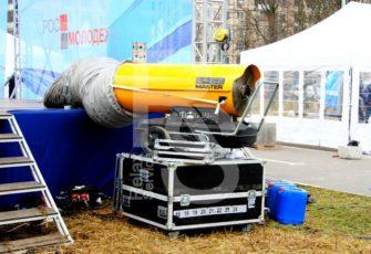 Аренда дизельной тепловой пушки на мероприятие в МСК и СПб цена