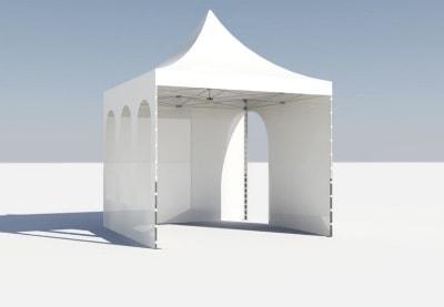 аренда шатра 4 на 4 метра цена проката
