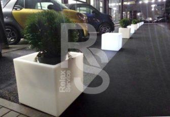 Световой куб Open Cubo аренда на мероприятие в СПб и МСК, прокат открытого дизайнерского куба с подсветкой
