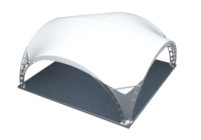 аренда шатер арочный 10 на 10 метров цена в спб и мск