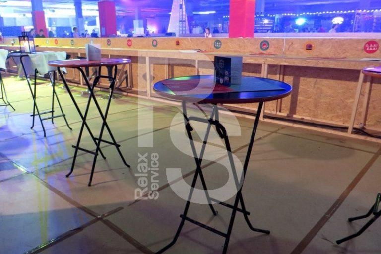 Аренда коктейльного фрушетного стола на мероприятие в СПб цена