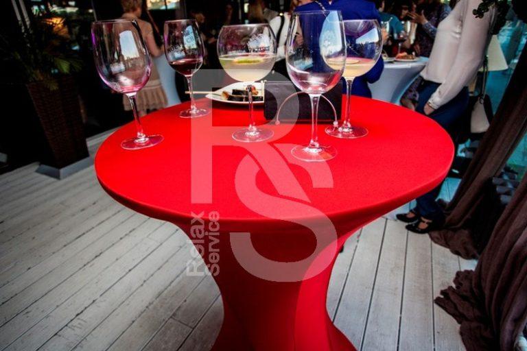 Аренда коктейльного фуршетного стола СПб цена