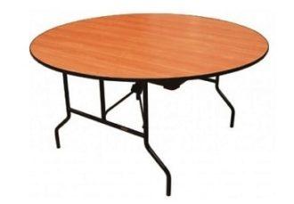 Аренда банкетного круглого стола диаметр 150 см. на мероприятие в СПб и МСК цена