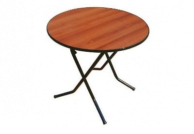 Аренда банкетного круглого стола диаметр 80 см. на мероприятие в СПб и МСК цена