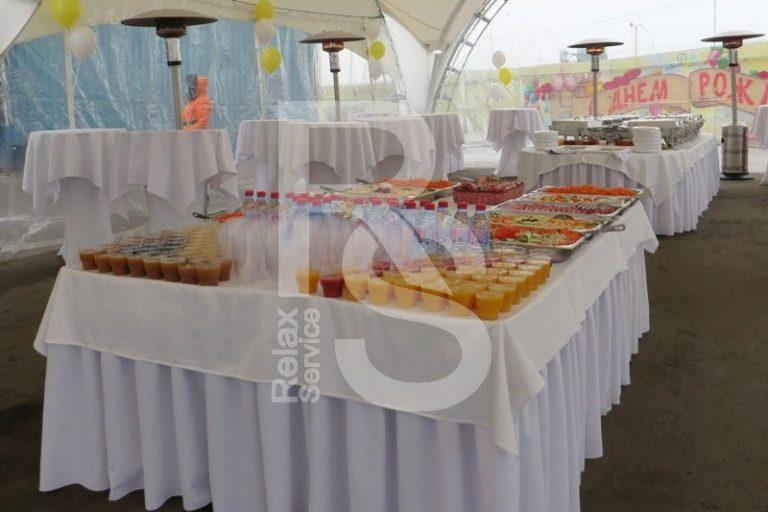 аренда прямоугольного стола с кантом 180 см. на мероприятие в СПб цена