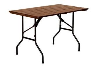 Аренда реечного прямоугольного стола 120 см. на мероприятие в СПб и МСК цена