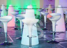 Стол Peak 120 световой аренда на мероприятие в СПб и МСК цена