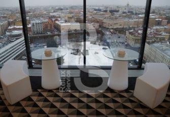 Стол Peak 80 световой аренда на мероприятие в СПб и МСК цена