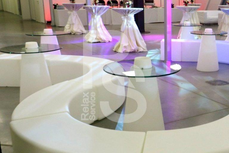 Стол Peak 80 световой аренда на мероприятие в СПб цена