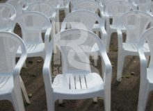 стул кресло пластиковое белое аренда в СПб и МСК на мероприятие цена