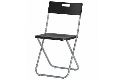 стул пластиковый складной черный аренда на мероприятие СПб и МСК цена