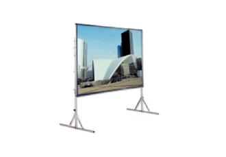 Экран проекционный 3х4 м., прямая и обратная проекция аренда на мероприятие в МСК и СПб цена