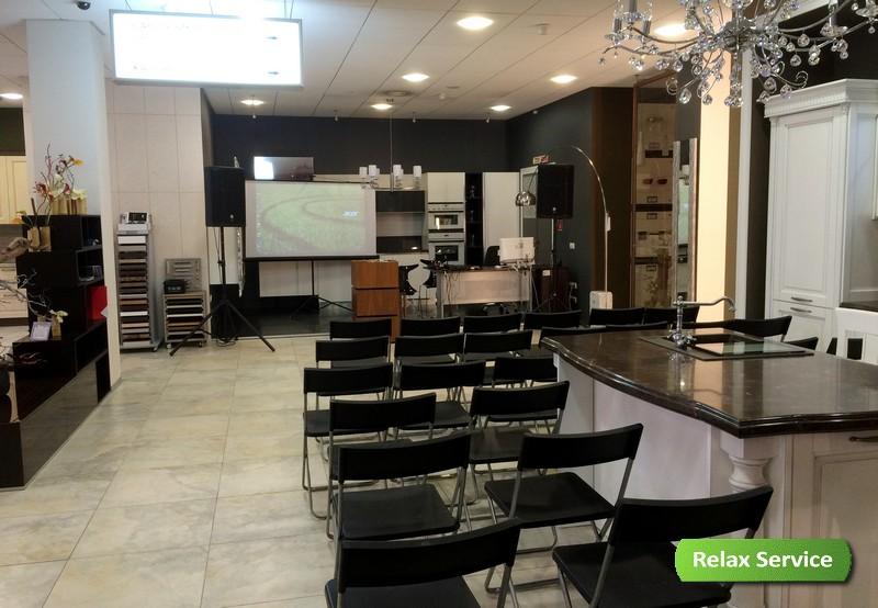 Оборудование для презентации в Кредит-Керамика