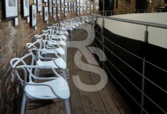 Аренда дизайнерских стульев Masters White белый в СПб и МСК на мероприятие цена