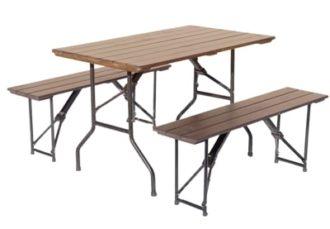 Пивной набор аренда реечный стол и 2 реечные лавки на мероприятие в СПб и МСК цена