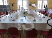 Стол для конференций овальный (1 секция)