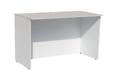 Аренда прямоугольного белого офисного стола 120 см. на мероприятие в СПб и МСК цена