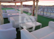 Стол журнальный квадратный белый аренда на мероприятие в СПб и МСК цена