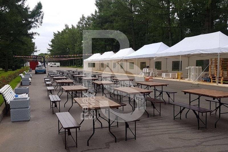 Аренда шатров и мебели для городских мероприятий и СПб