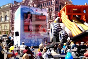 Аренда экранов, конструкций и оборудования на городские мероприятие в Мск и СПб цена