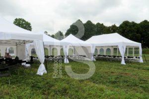 Аренда шатров и мебели для городских мероприятий в МСК и СПб