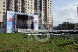 Аренда сцен и мебели для городских мероприятий