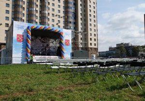 Аренда оборудования, мебели и шатров на городские и муниципальные мероприятия и праздники цена в МСК и СПб