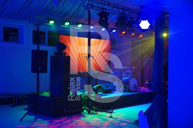 Аренда звукового и светового оборудования и экранов для концертов и мероприятий в СПб цена